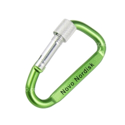 Carabiner with Safety Lock (8cm)