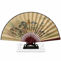 Chinese-style Foldable Fan (33cm)
